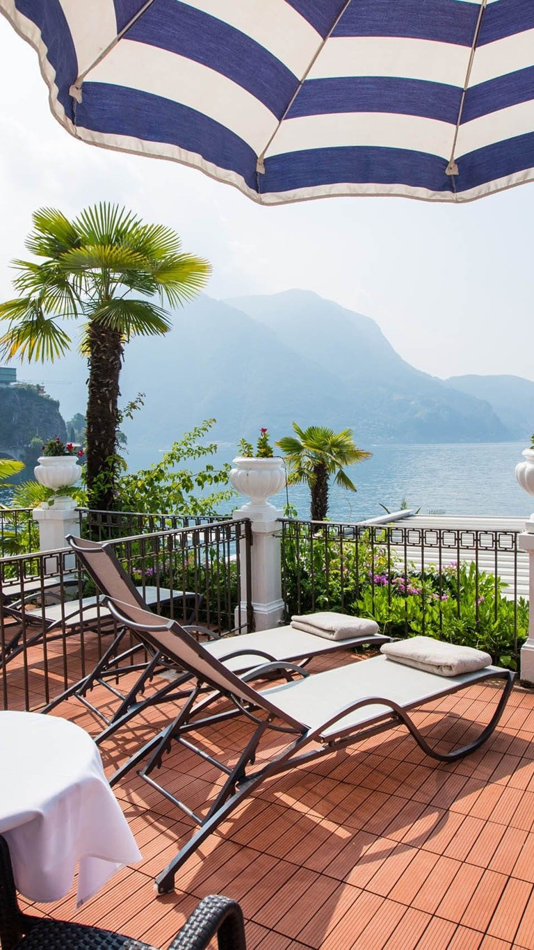 Hotel Lugano Lido Seegarten Lake View With Big Balcony 0328